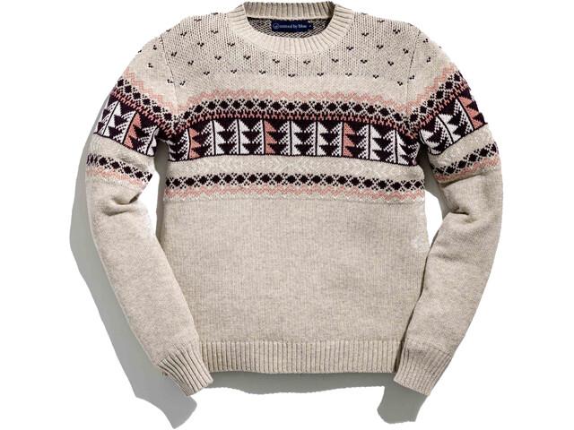 United By Blue Merino Blend Ski Sweater Damer, beige